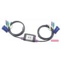 2-портовый KVM/AUDIO переключатель Aten CS62A-A7