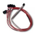Внутренний кабель MiniSAS-to-4xSATA LSI LSI00259 60 см