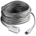 12-метровый удлинитель USB 2.0 с усилителем TrendNet TU2-EX12 (версия 1.0R)