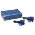 Двухпортовый КВМ-переключатель Trendnet TK-205K
