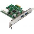 USB 3.0 двухпортовый хост-адаптер Trendnet TU3-H2PIE PCI Express