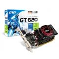 Видеокарта MSI GeForce GT 620 700Mhz PCI-E 2.0 2048Mb 1333Mhz 64 bit DVI HDMI HDCP