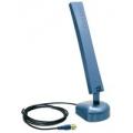 Комнатная двухдиапазонная всенаправленная антенна Wi-Fi с коэффициентом усиления 7/5 dBi (802.11a: 7dBi; 802.11b/g: 5dBi) TRENDNet TEW-AI75OB
