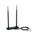Комнатная сдвоенная всенаправленная антенна Wi-Fi с коэффициентом усиления 7 dBi TRENDnet TEW-AI77OB