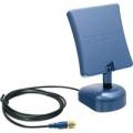Комнатная двухдиапазонная направленная антенна Wi-Fi с коэффициентом усиления 8/6 dBi (802.11a: 8dBi; 802.11b/g: 6dBi) с подставкой TRENDNet TEW-AI86DB