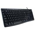Клавиатура Logitech Keyboard K200 for Business Black USB
