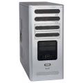 Корпус Foxconn TPS-538 500W Black/silver
