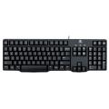 Клавиатура Logitech Classic Keyboard K100 Black PS/2