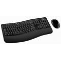 Комплект клавиатура + мышь Microsoft Wireless Comfort Desktop 5000 Blue Track USB