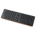 Комплект клавиатура + мышь Беспроводная 3D мышь Air Mouse + полная 56 клавишная QWERTY клавиатура Upvel UM-511KB Black USB