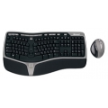 Комплект клавиатура + мышь Microsoft Natural Wireless Ergonomic Desktop 7000 Black-Grey USB