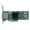 Адаптер LSI SAS9200-8E (PCI-E 2.0 x8, LP) SGL, LSI00188