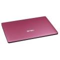 "Ноутбук Asus X501A Pink (Pentium B980 2400 Mhz/15.6""/1366x768/2048Mb/ 320Gb/DVD нет/Wi-Fi/Bluetooth/DOS)"