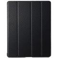 Чехол-обложка Cooler Master Carbon Texture для iPad 2/3/4, черный