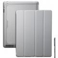 Чехол для планшета iPad Cooler Master WakeUpFolio CarbonTexture белый
